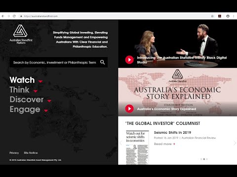 Introducing The Australian Standfirst Platform Narrated By Will Lyman