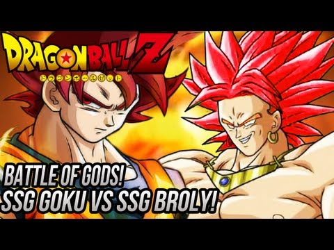DragonBall Z: Super Saiyan God Broly VS Super Saiyan God Goku