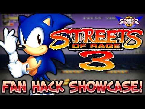 SC Fan Hack Showcase: Sonic in Streets of Rage 3!