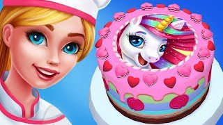 Fun Kids Cooking Games  - Bake Cute Pony Cake - My Bakery Empire Decorate Horse Cake Kids Games