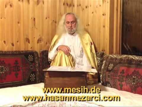 Hasan Mezarcı tanrımız İsa Mesih gibi haçlanmayı göze almadan bu sözleri söyleyemez