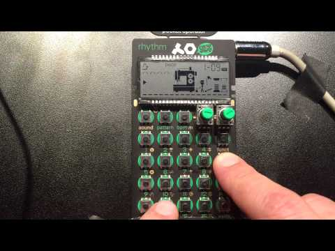 Pocket Operator PO-12 Rhythm by Teenage Engineering pt. 1