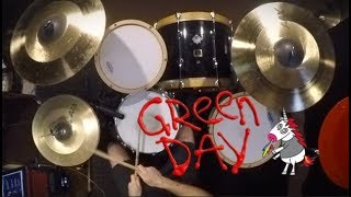 Green Day - Father of All... (Drum Cover by Rex Larkman)