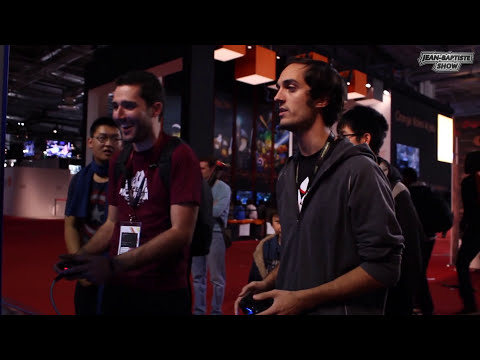 The Witcher 3 et Mortal Kombat X (PARIS GAMES WEEK) #2