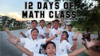 12 Days of Math Class || 12 Days of Christmas Parody