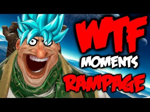 Dota 2 WTF Moments - Best Rampages of 2018