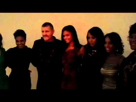For Colored Girls Living Portraits Opening: Janet, Tim Palen and Cast