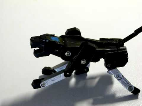 Thumb Stop-Motion con un USB del Transformer Destructor (Ravage)