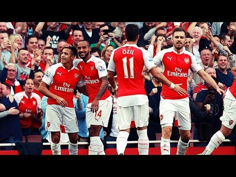 HIGHLIGHTS ● BPL ► Arsenal 3 vs 0 Manchester United - 4 Oct 2015 | English Commentary