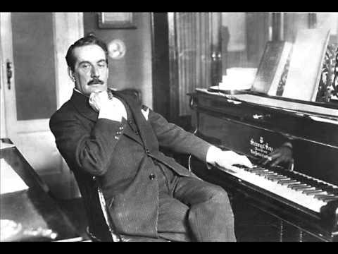 Пуччини Джакомо - фортепианная фантазия