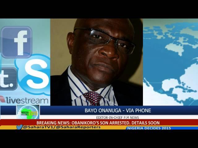#NigeriaDecides: PM News Editor Bayo Onanuga On 2015 Gubernatorials