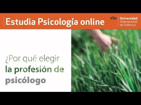VIU - ¿Por qué elegir psicología como profesión?