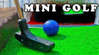 Mini Golf - Let's Play FOR REAL! Animal Course | 
