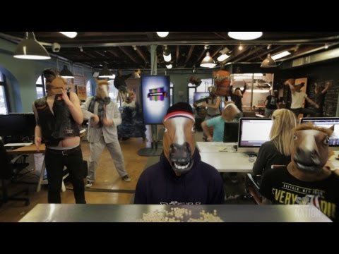 The Harlem Shake Original Horse Mask (SB Nation)