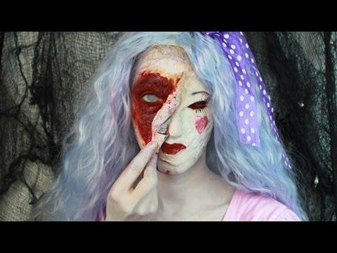 Halloween Makeup: Creepy Doll Makeup