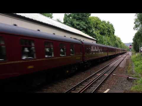 West Coast Railways 57 314 at Hebden Bridge.