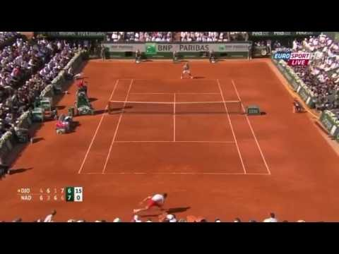 Rafael Nadal vs Novak Djokovic French Open 2013 Highlights (Semifinals)