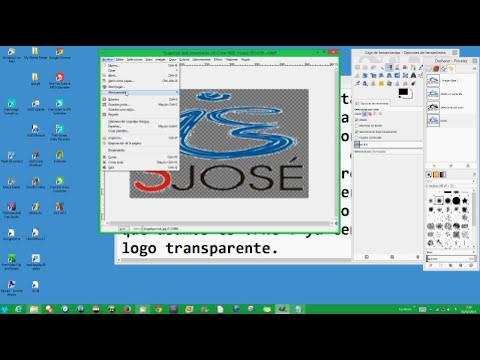 Tutorial como hacer un Logotipo con GIMP