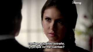 Elena le dice a Damon la razón de su ruptura con Stefan(4x07)subulado