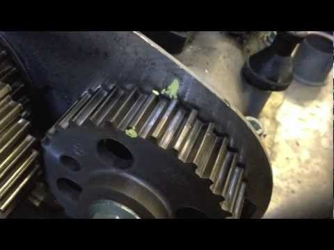 VW Polo 1.4 cambelt (timing belt) change -
