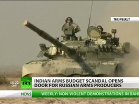 'Naked' Indian army triggers weapons buying spree