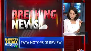 Tata Motors Reports Surprise Loss of Rs 1,836 Cr; JLR Net Loss at £210 M   #1QWithCNBCTV18