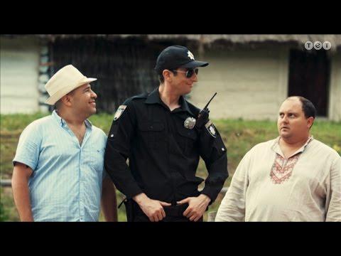 Однажды под Полтавой. Новая полиция в Полтаве. 34 серия.