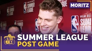 Lakers Summer League: Mo Wagner After Las Vegas Debut