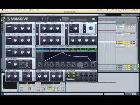 Diplo revolution Massive Synth Tutorial video
