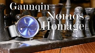 Hey There Mr. Blue : Gaunqin Nomos Lambda Homage Review (GJ16106M)