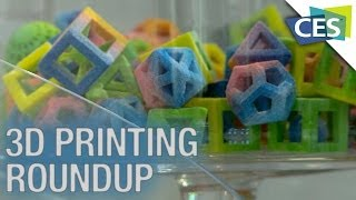 3D Printer Round-Up: Printing Food, Laser Printing, and More! - CES 2014