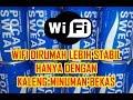 Cara Membuat Penguat Sinyal Wifi Untuk Android Dan Laptop