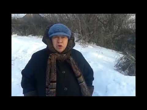 Жительница Аткарска боится, что ее дом упадет в овраг