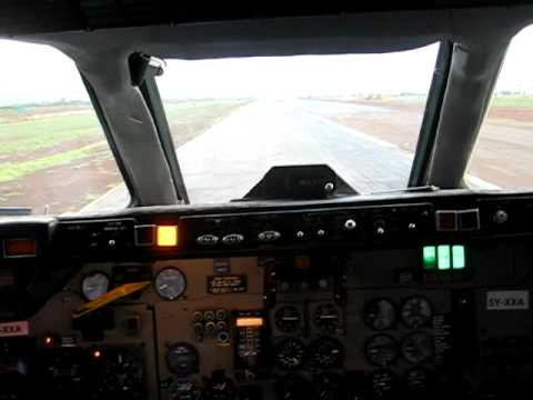 DC-9-10 Landing - From the Flightdeck