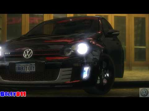 GTA 4 Volkswagen Golf GTI Mk6 !!  ENB series Extreme Graphics  [ Car mods + RealizmIV + VisualIV ]