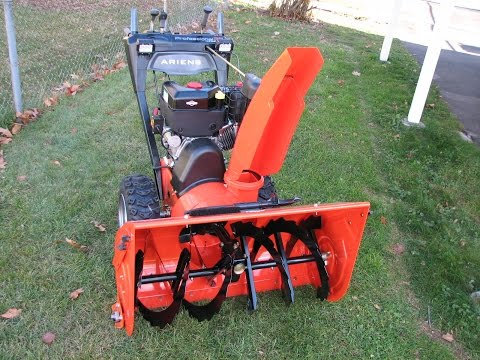 Ariens biggest snow blower review