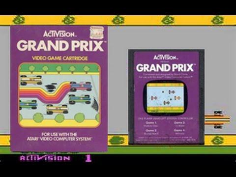 Grand Prix Atari 2600 - Retro Ultra Reviews