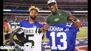 """Brandon Marshall SIGNS 2 Year Deal With Giants, EXCITED To Play With """"Superstar"""" OBJ!"""