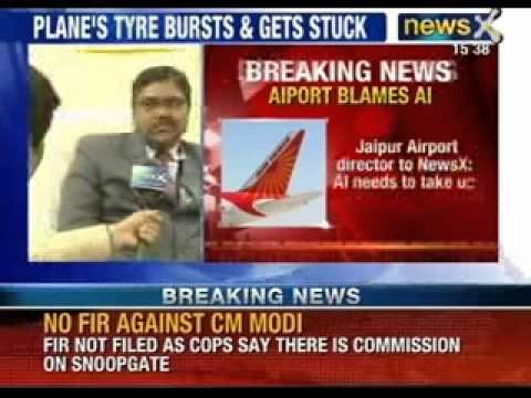 Jaipur Airport director to NewsX: Air India needs to take up responsibility