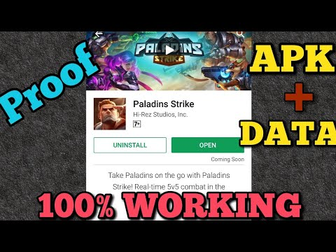 How To Download Paladins Strike On Android   Proof   100% Working   2017
