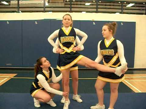 Cheerleading 101 - basic Stunting