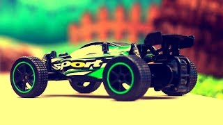 Sports car 1/20 2WD 2.4G High Speed RC Racing Buggy RTR Review