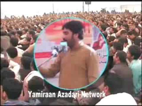 Zakir Waseem Abbas Baloch 9 March 2014 Bazaar-e-sham Choung Lahore video