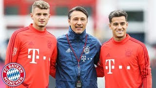 LIVE FC Bayern Training w Coutinho, Perii Cuisance