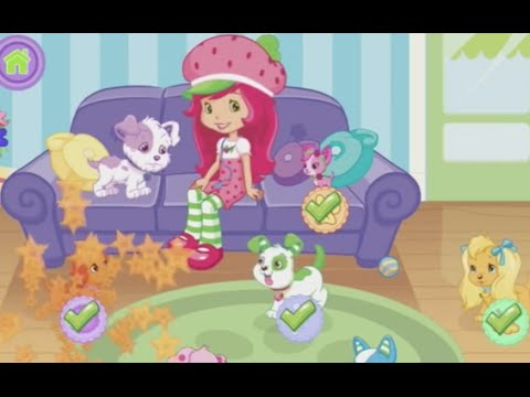 Strawberry Shortcake Perfect Puppy Doctor - Best iPad app demo for kids