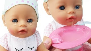 Baby Born Interactive Baby Doll That Cries, Eats, & Drinks