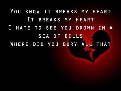Flyleaf - Bury Your Heart (lyrics)