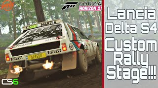 Lancia Delta S4 Custom Rally Stage - Forza Horizon 4 - It's My One Year Anniversary!!!