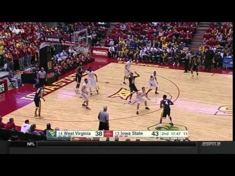West Virginia at Iowa State | 2015-16 Big 12 Men's Basketball Highlights