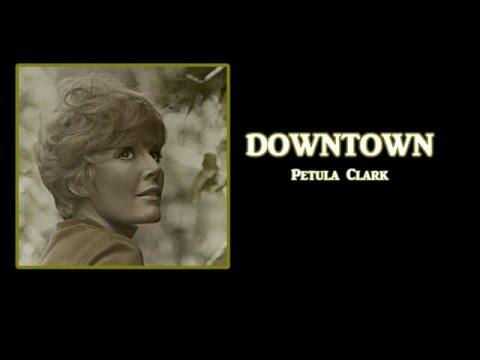 Downtown + Petula Clark + Lyrics / HD